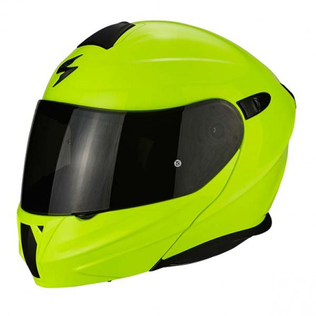 casco scorpion exo 920 amarillo