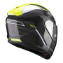 CASCO SCORPION EXO 1400 AIR CARBON BEAUX NEGRO CON AMARILLO