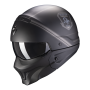 casco moto scorpion exo combat unborn