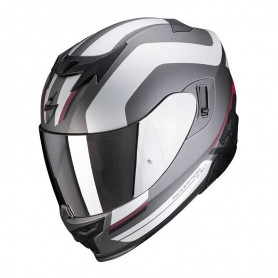 CASCO SCORPION EXO 520 AIR LEMANS ROJO GRIS MATE