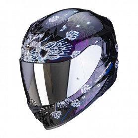 CASCO SCORPION EXO 520 AIR TINA NEGRO CAMALEÓN