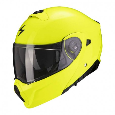 CASCO SCORPION EXO 930 SOLID AMARILLO NEÓN