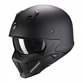 CASCO SCORPION EXO HX1 SOLID NEGRO MATE