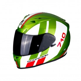 casco scorpion exo 710 gt verde