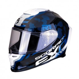 Casco Scorpion EXO R1 AIR CORPUS BLACK WHITE