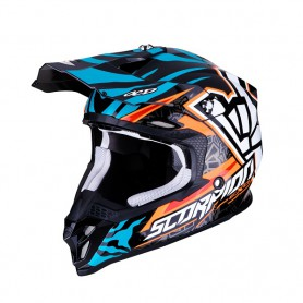 Casco Scorpion VX 16 AIR ROK BAGOROS