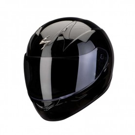 Casco Scorpion EXO 390 SOLID negro brillante