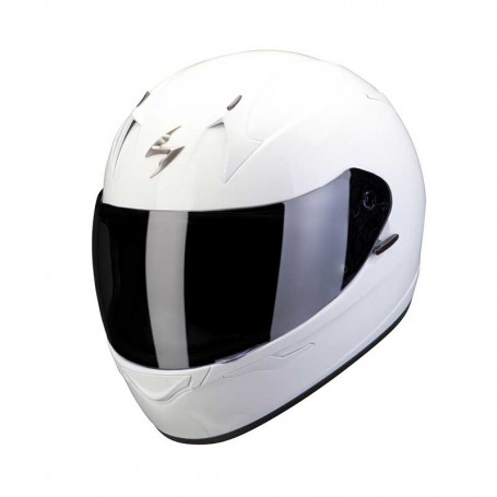 Casco Scorpion EXO 390 SOLID blanco